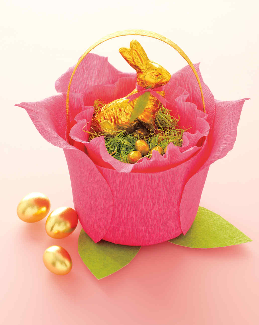 Crepe paper rose basket martha stewart negle Gallery