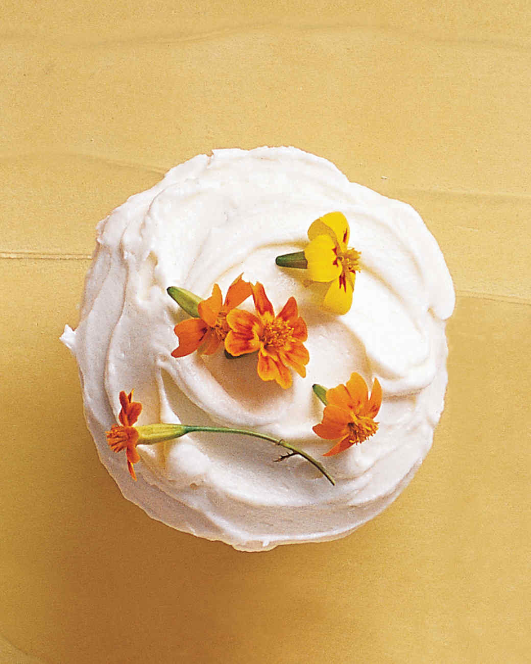 Edible-Flowers Cupcakes