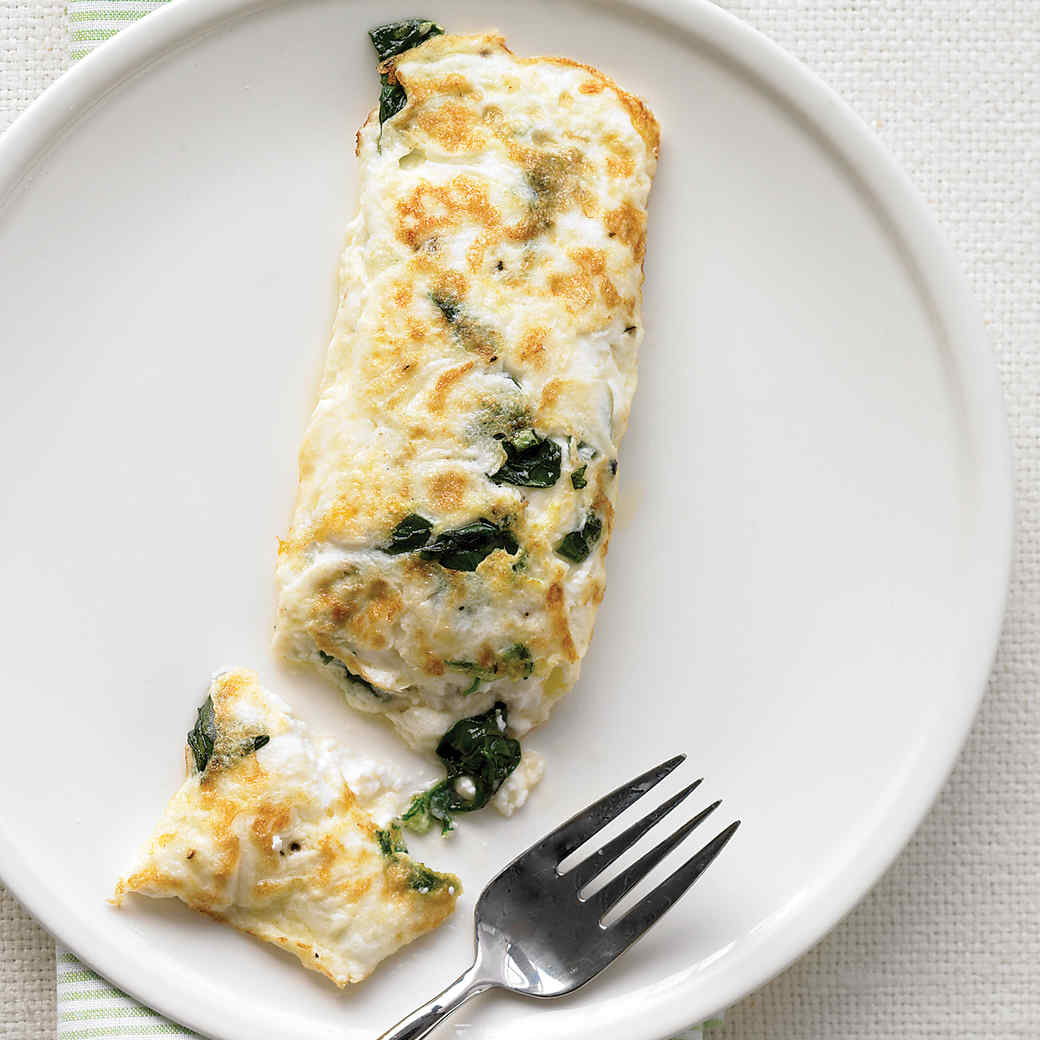 Excellent Egg White Omelet With Spinach And Cottage Cheese Home Interior And Landscaping Fragforummapetitesourisinfo