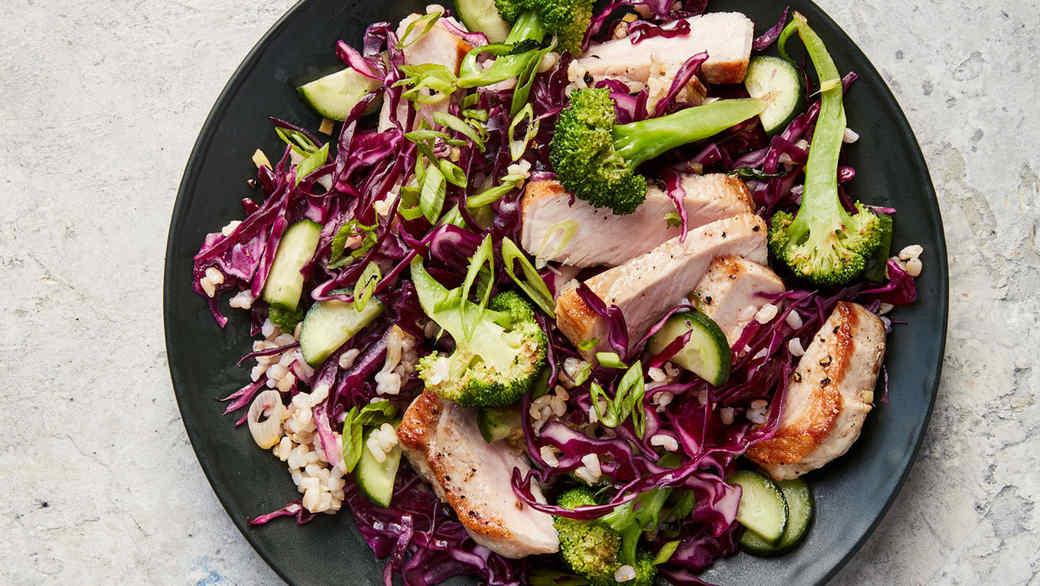 Ginger-Pork Salad