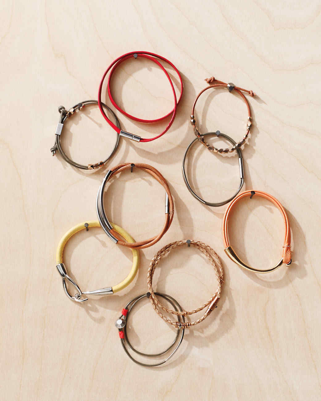 Hide & Chic Bracelets: How To