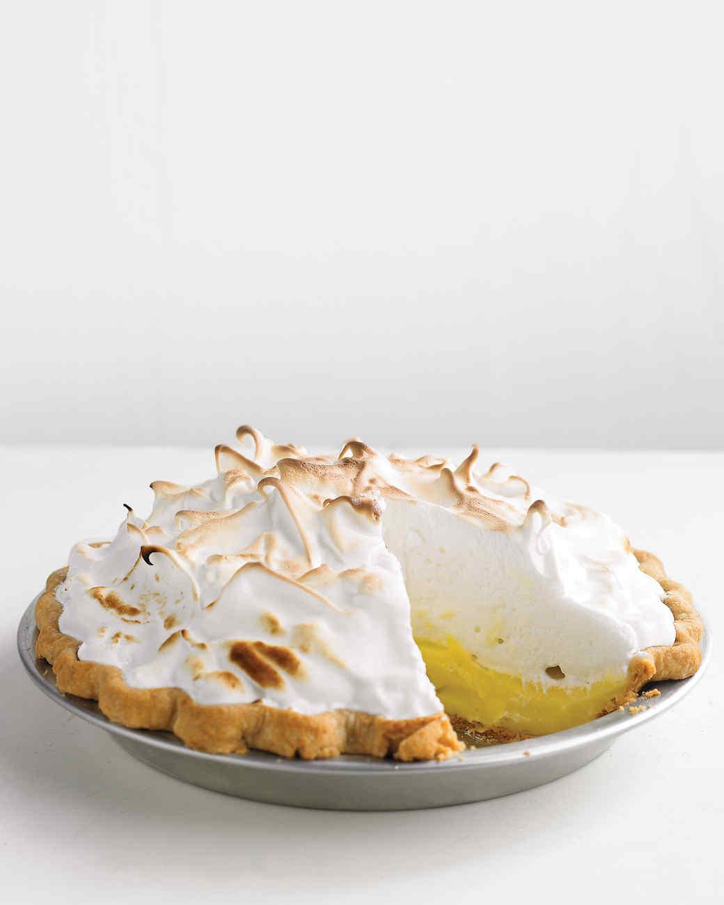 Martha's Lemon Meringue Pie