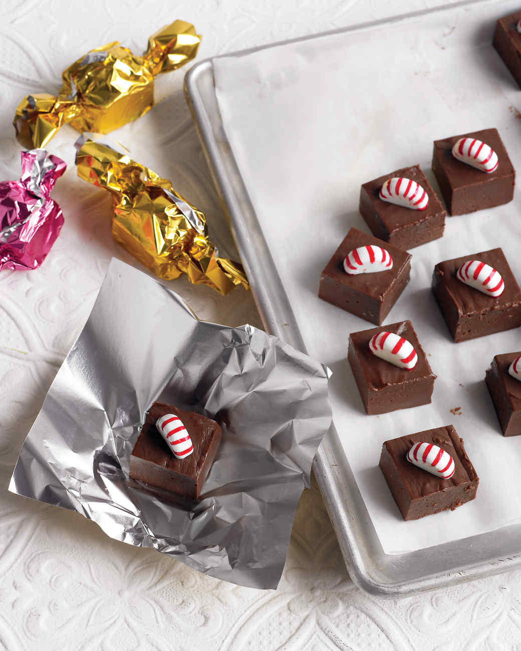 Stocking stuffer candy recipes martha stewart peppermint fudge solutioingenieria Choice Image