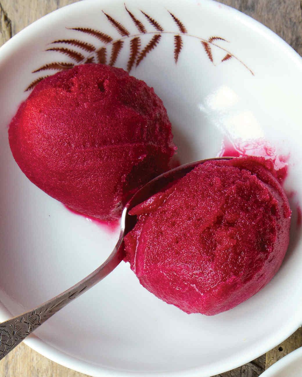 蔓越莓冰糕
