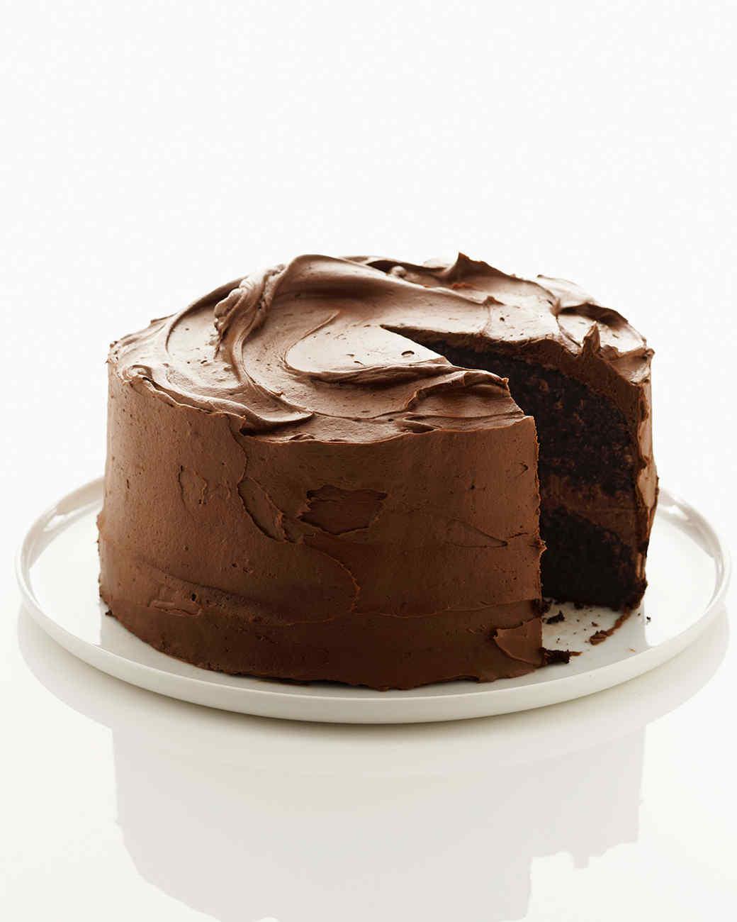 Chocolate Cake Cupcake and Cheesecake Recipes Martha Stewart