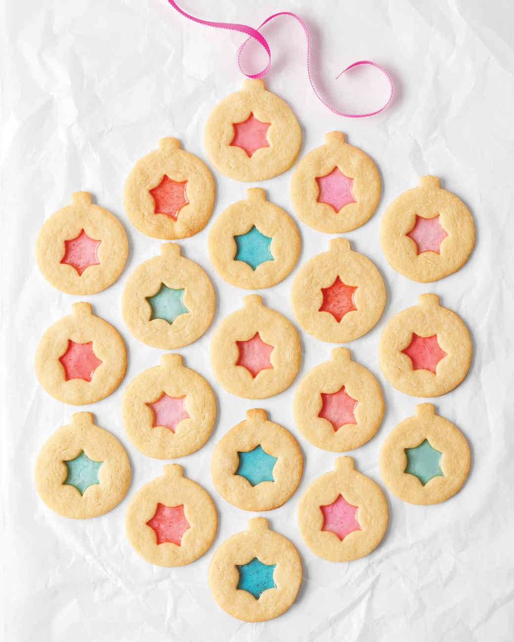 Stained glass sugar cookies recipe martha stewart for Stained glass cookie recipe