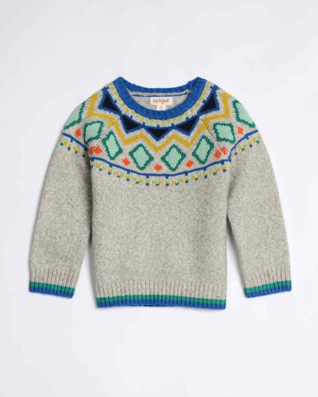 cat and jack kids sweater target