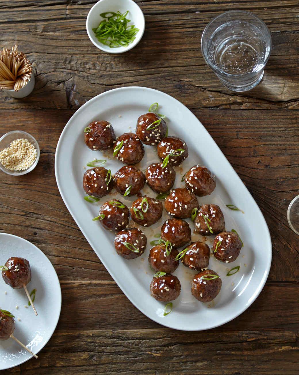 Sunday brunch recipes meatballs appetizer