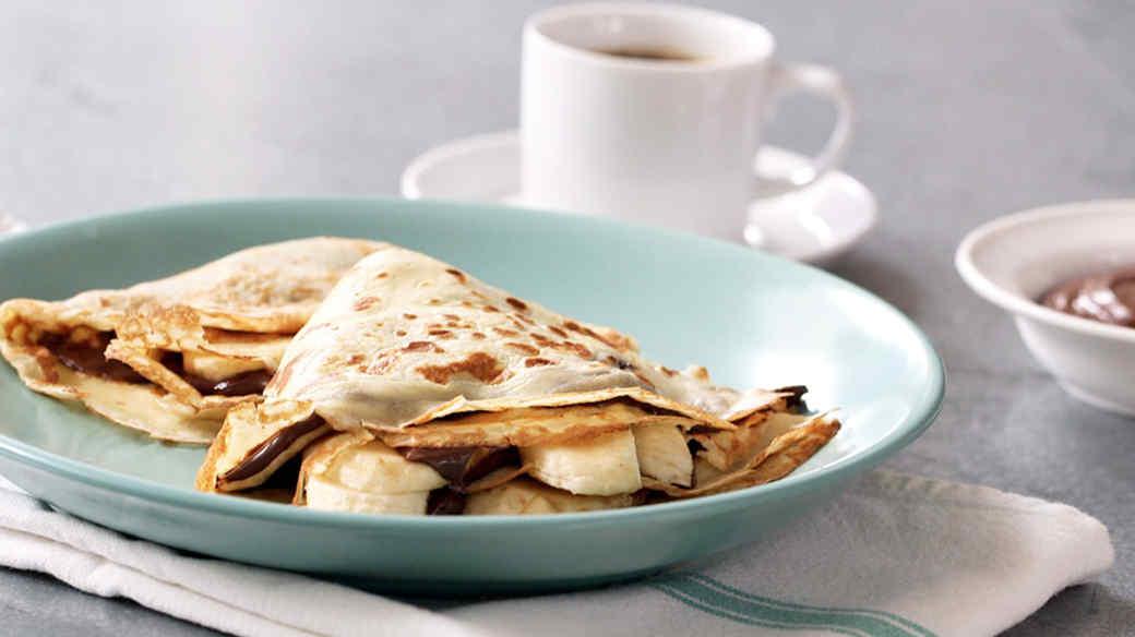 Nutella-Banana Crepe Recipe