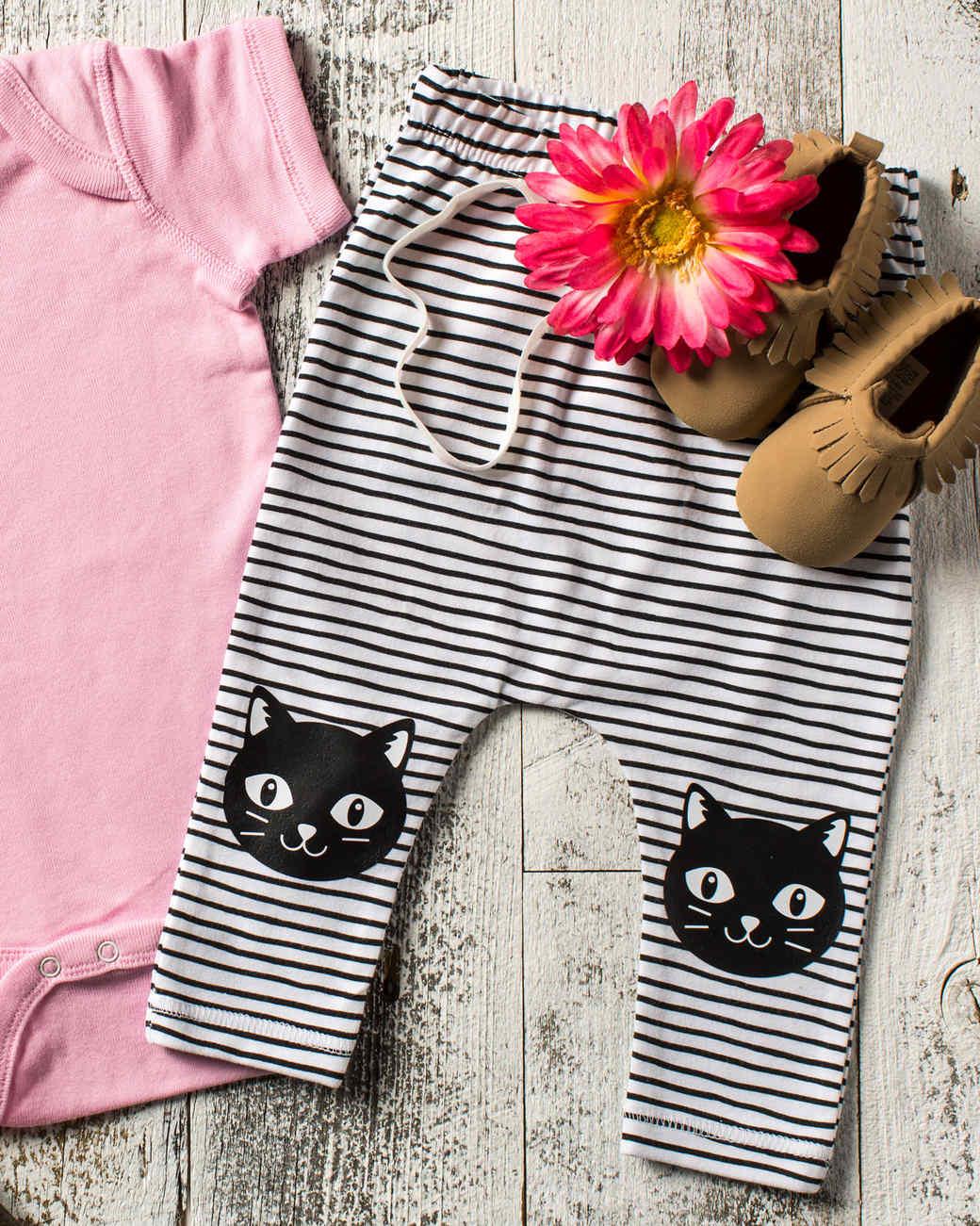 cricut cat baby leggings