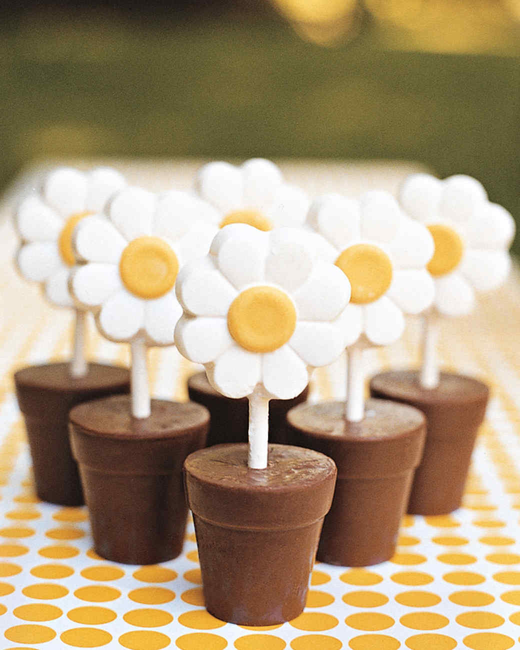 Exceptional Daisy Baby Shower Part - 14: Blooming Bites