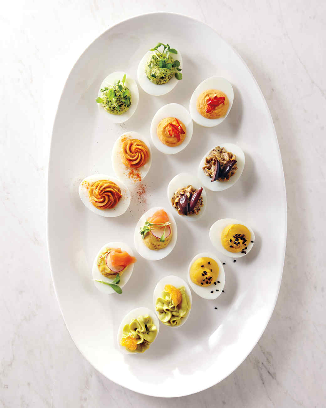 Our Definitive Deviled Eggs & 25 Delicious Ways to Use Up Leftover Hard-Boiled Eggs | Martha Stewart