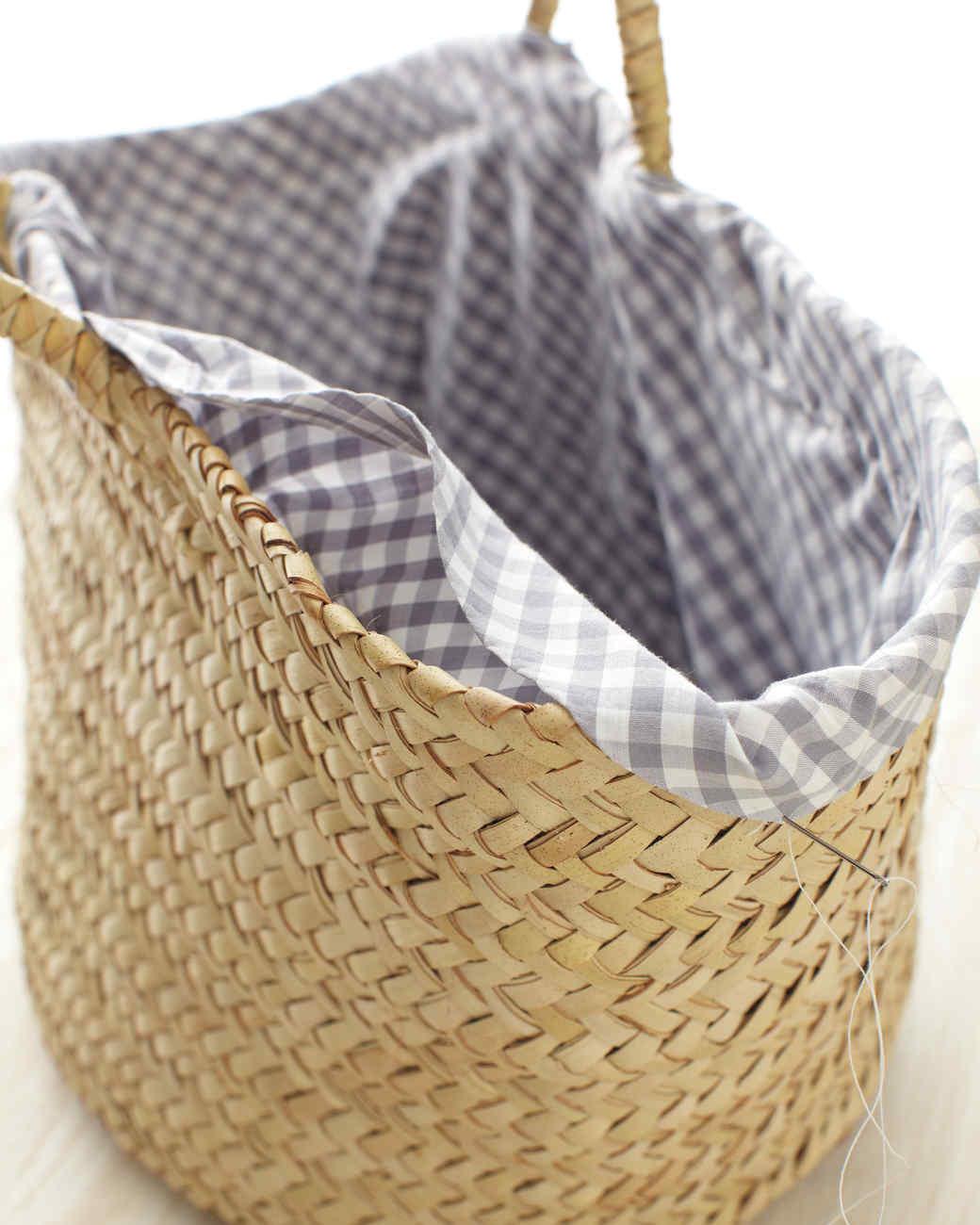 Basket Liner How-To