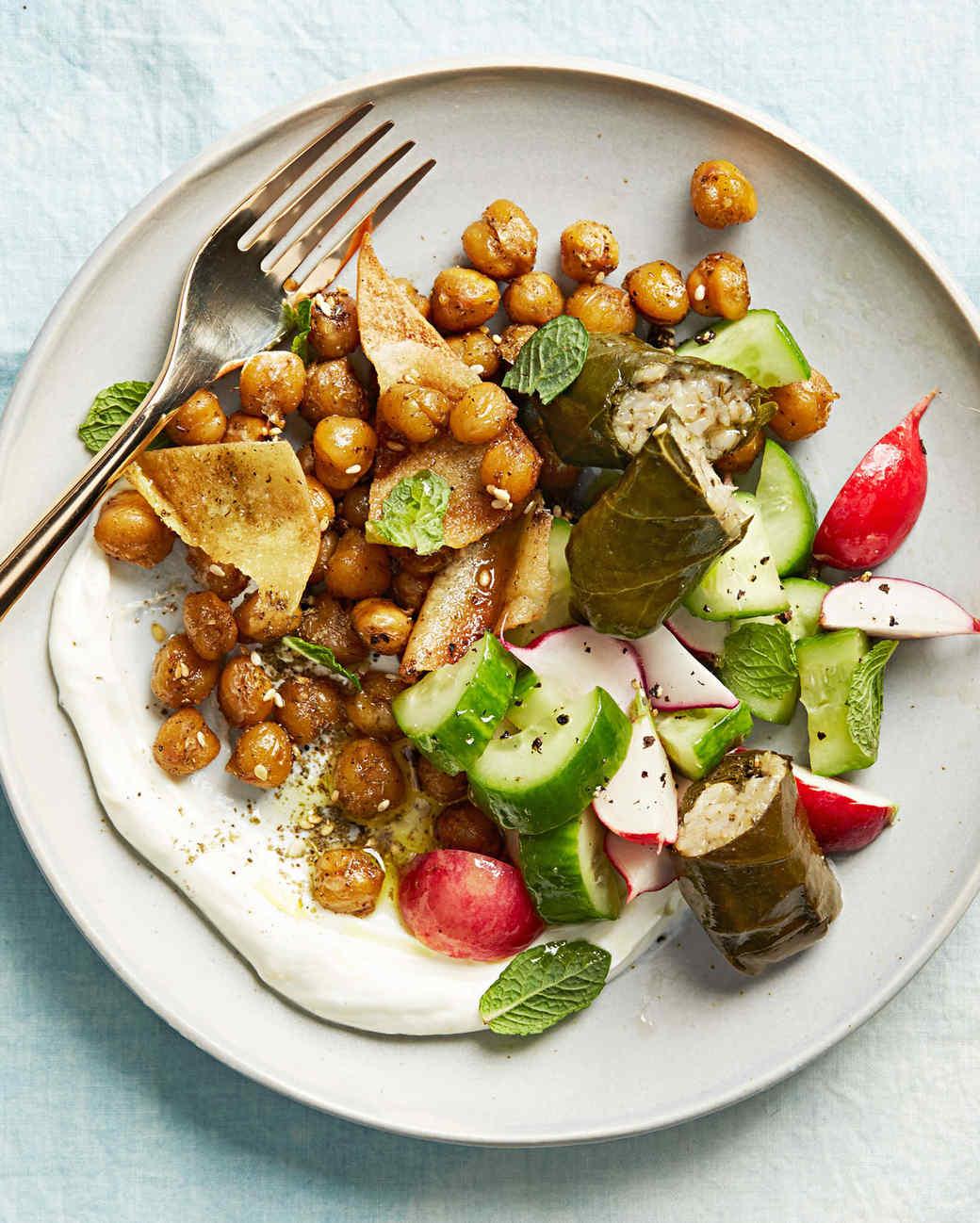 Greek mezze salad