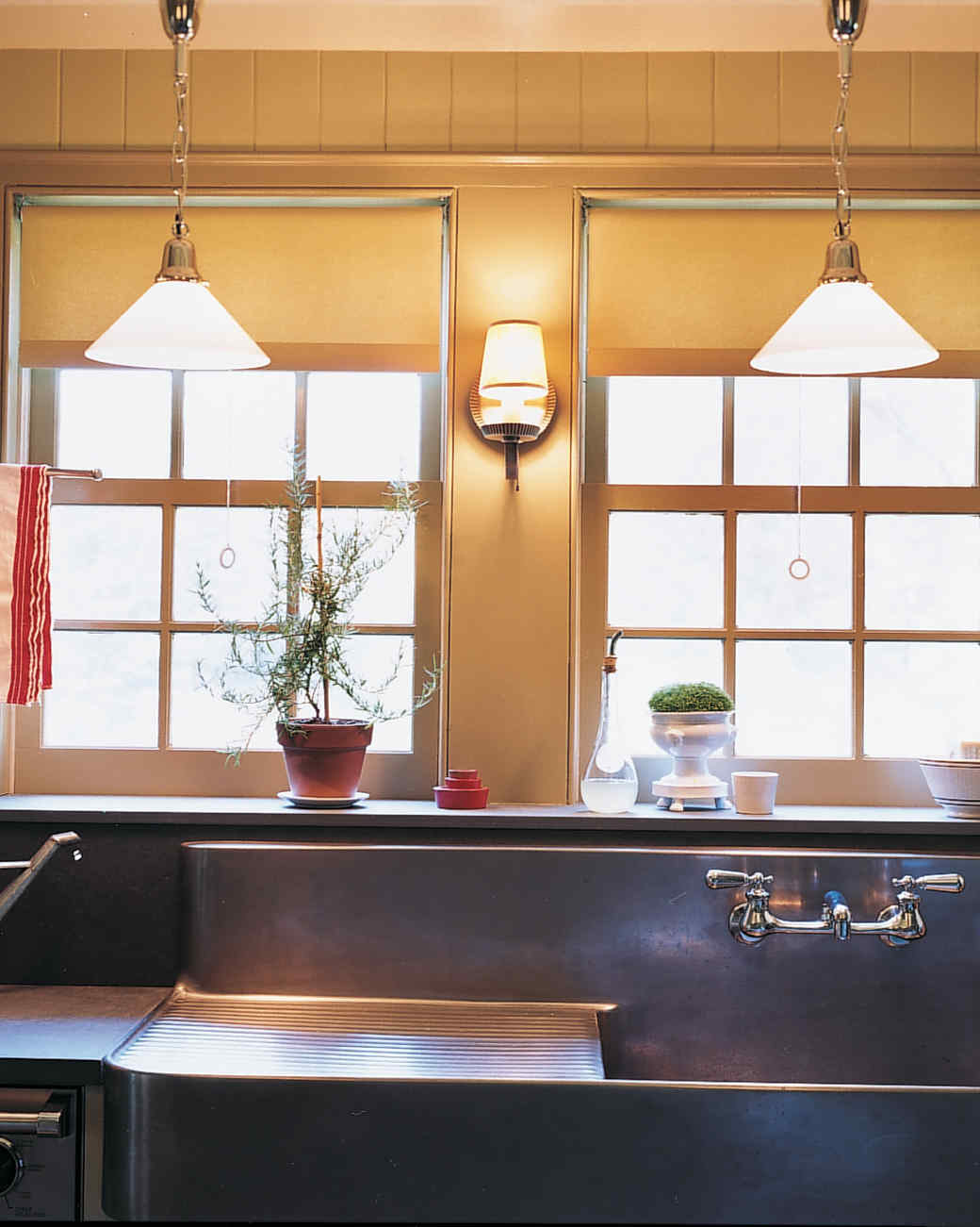 A Salvaged Sink. A Country Kitchen Calls For Upcycled Vintage Accents ...