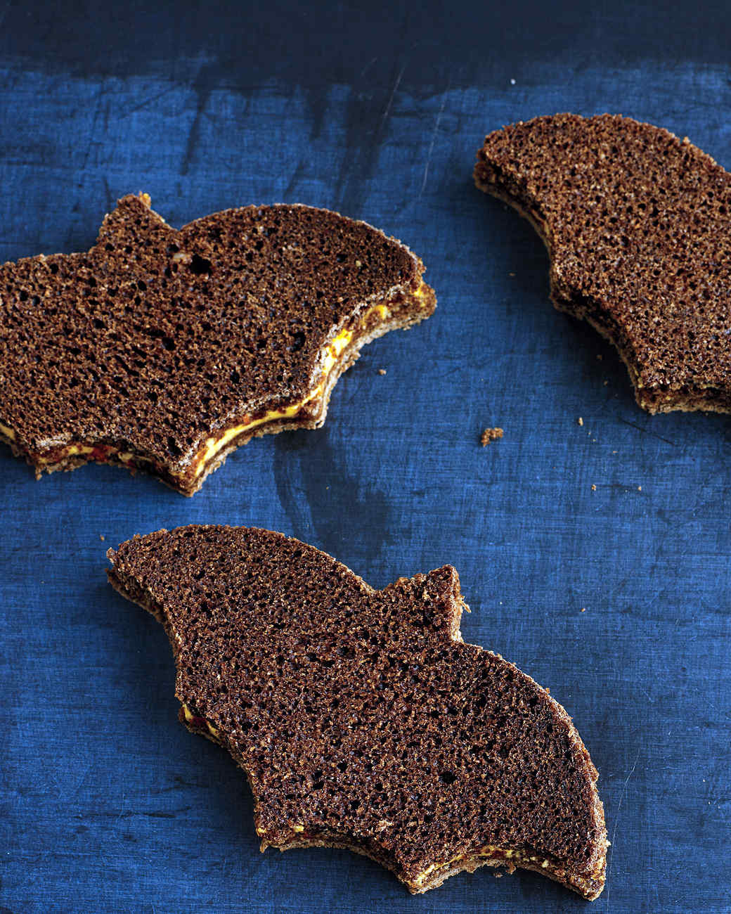 Pimento-Cheese-and-Pumpernickel Sandwiches