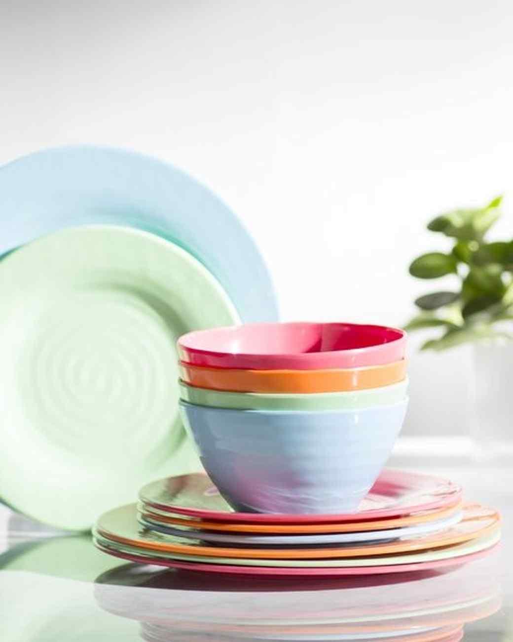 melamine dinnerware