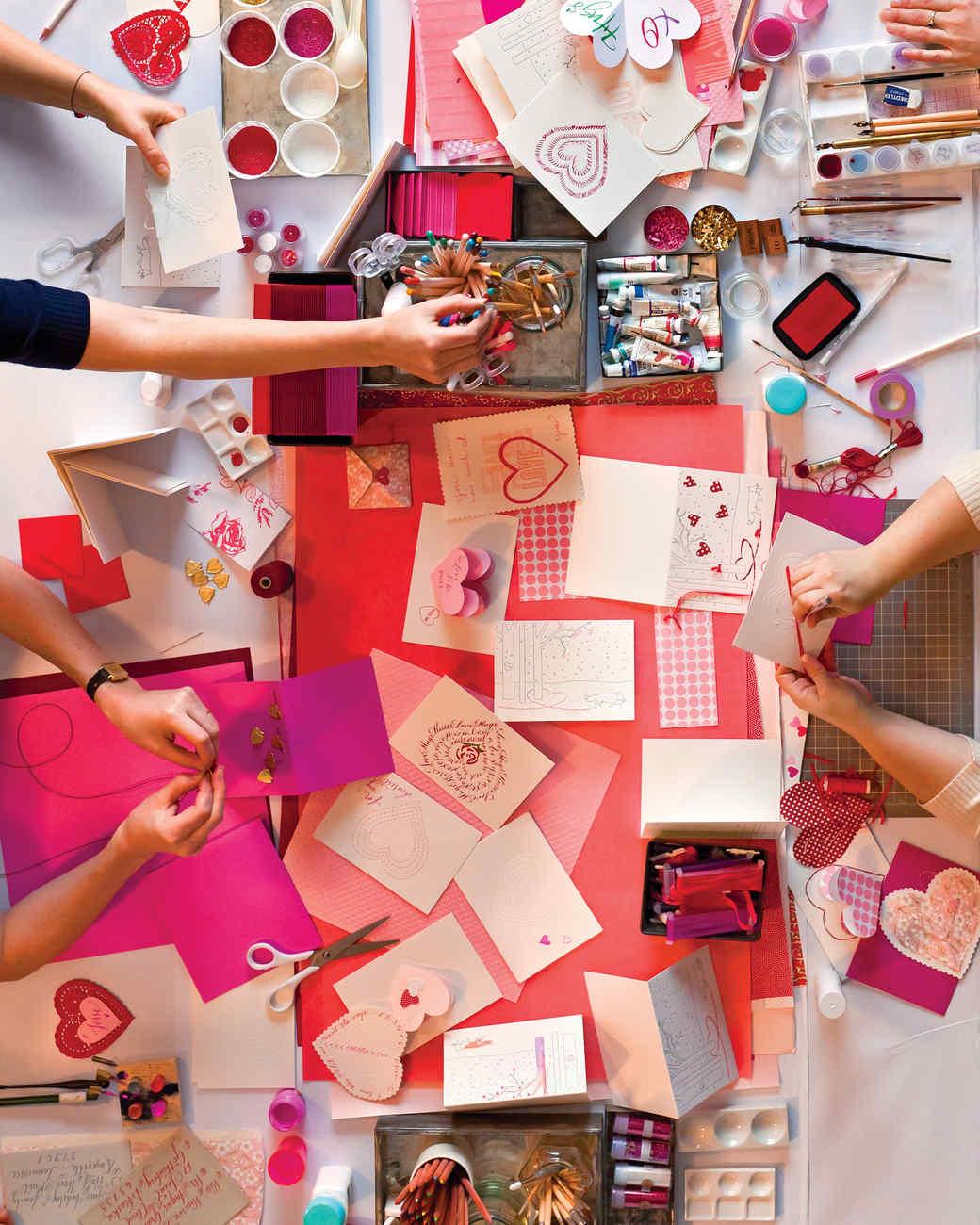 Marvelous Card Making Party Ideas Part - 4: Martha Stewart