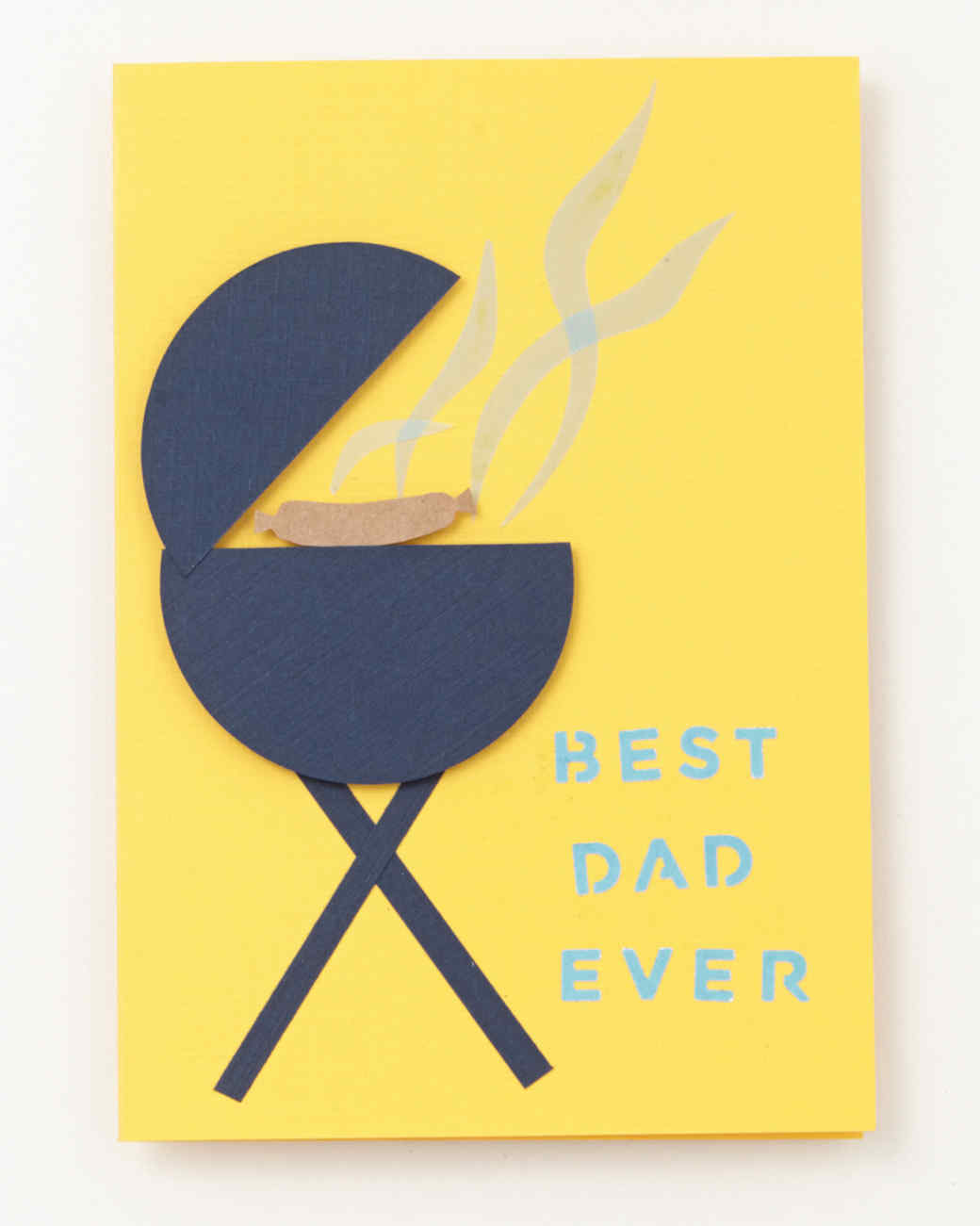 Best Dad Ever Bbq Fathers Day Card Martha Stewart