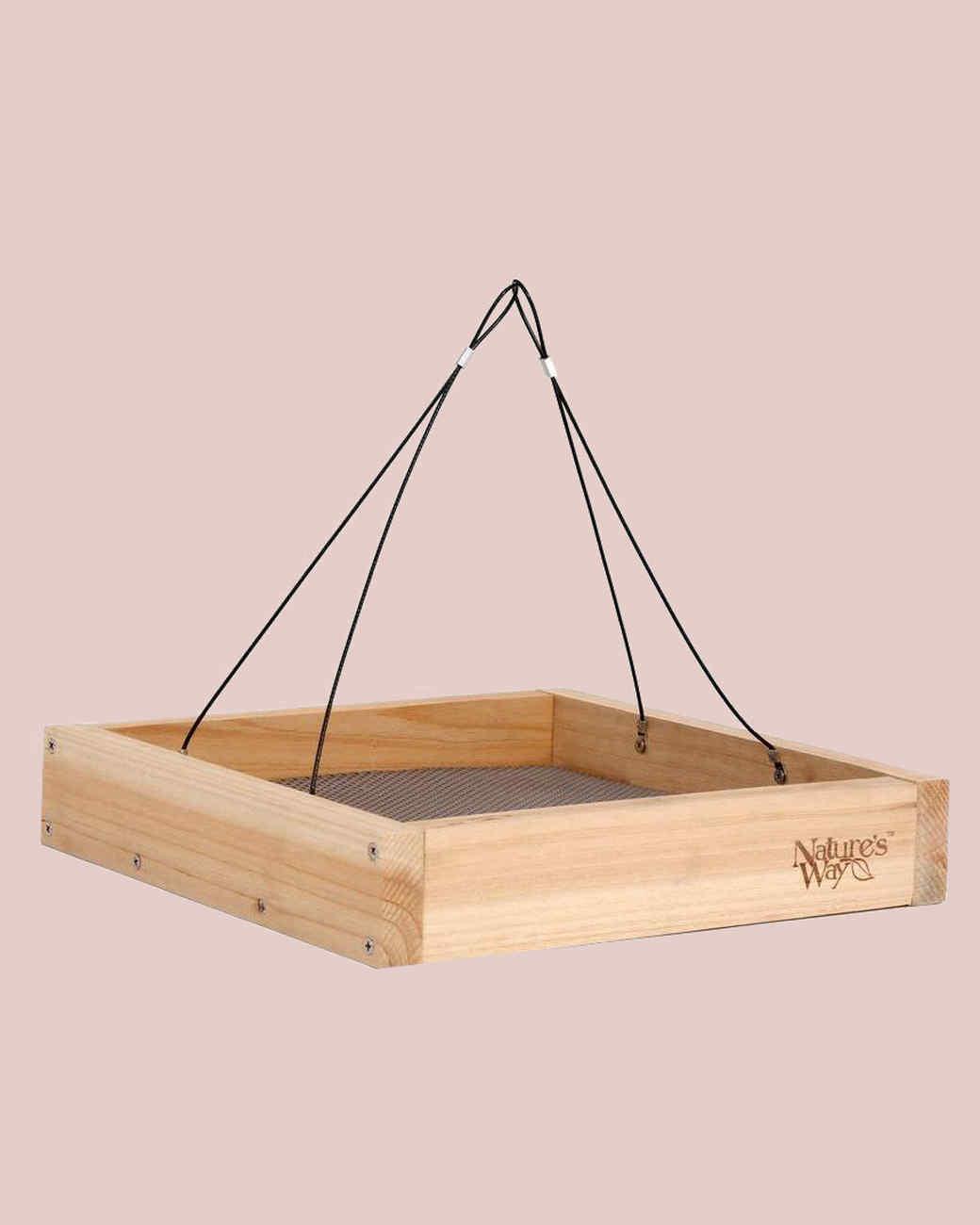 natures way tray bird feeder
