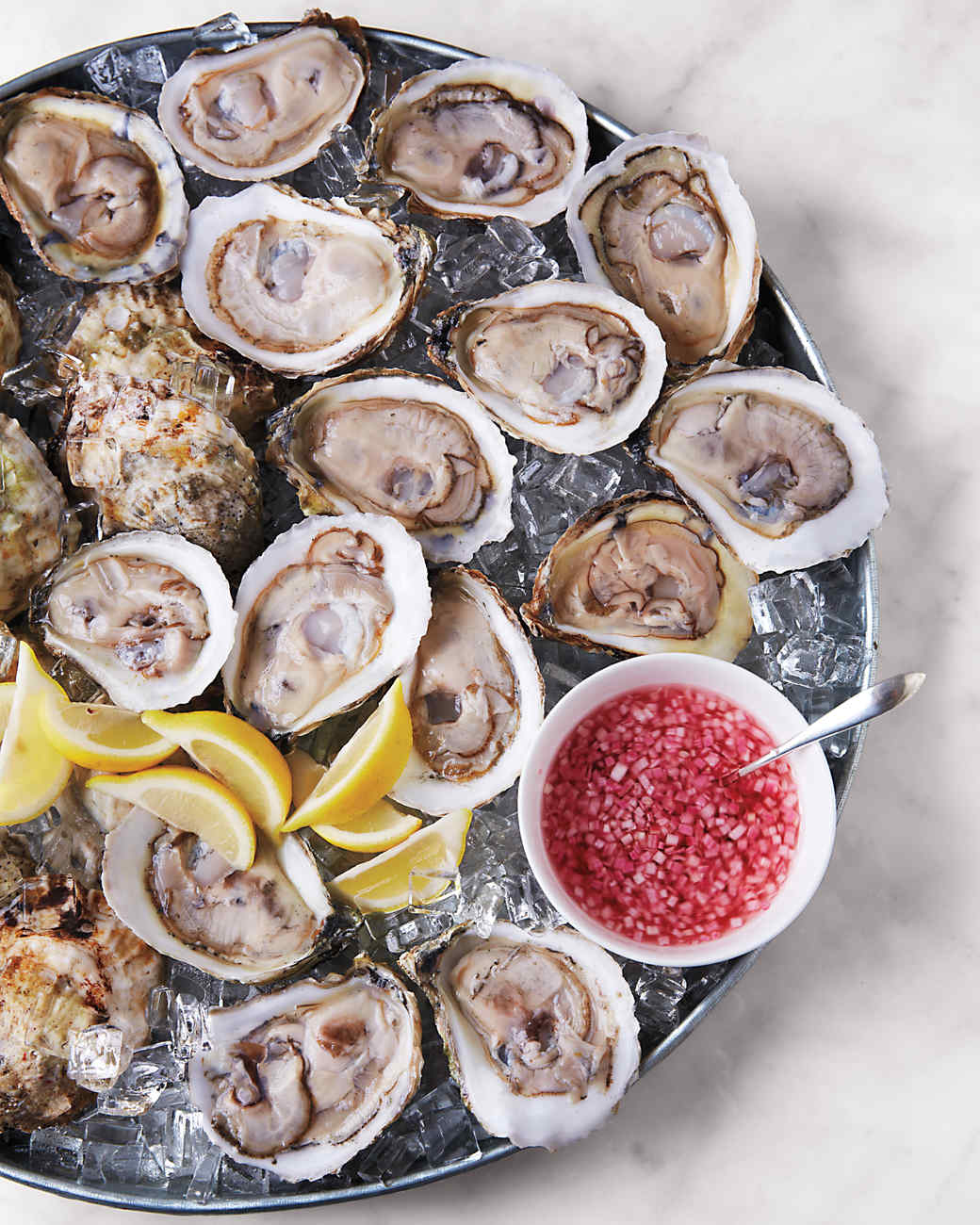 Oysters on The Half Shell Oysters on The Half Shell With
