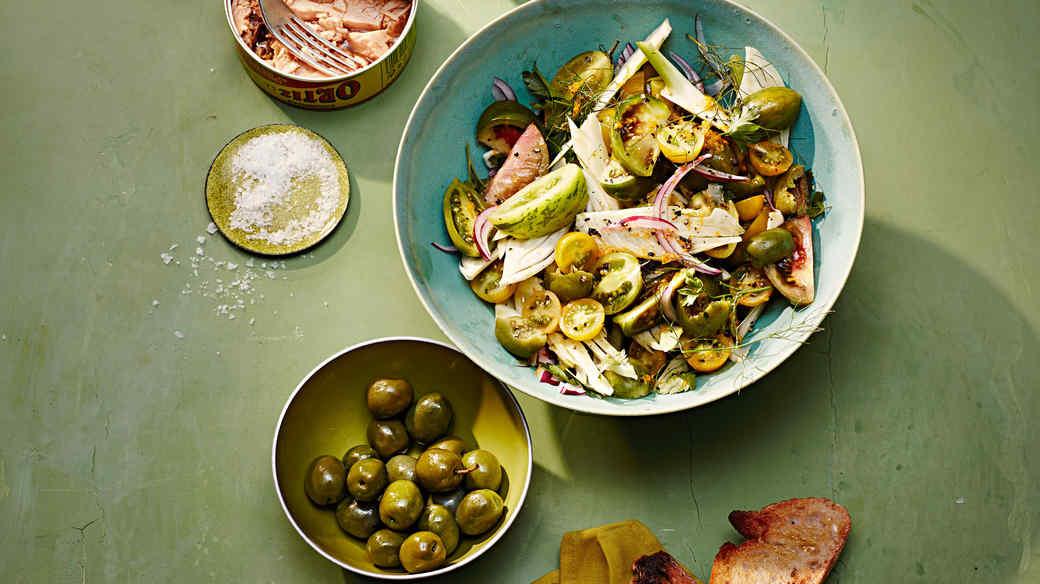 sardinian tomato salad