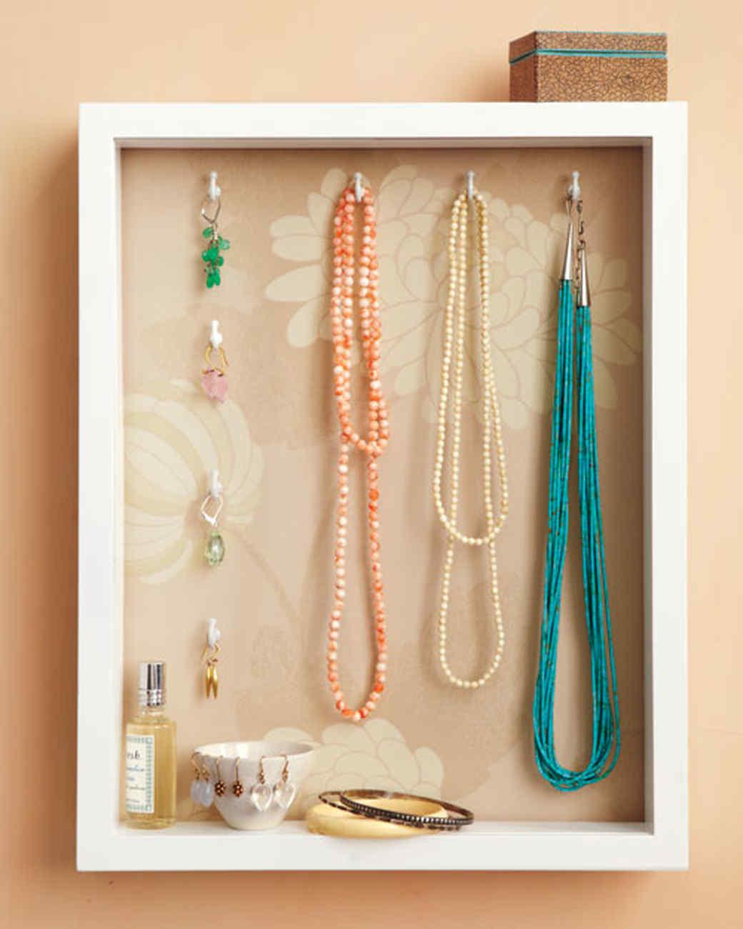 Shadow Box Jewelry Holder Video Martha Stewart