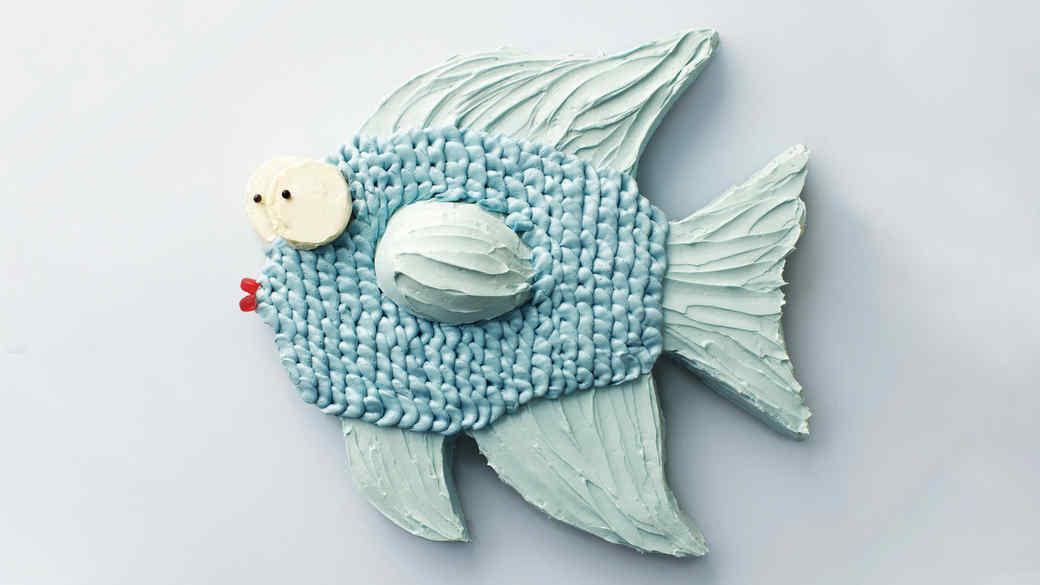 Fish Birthday Cake