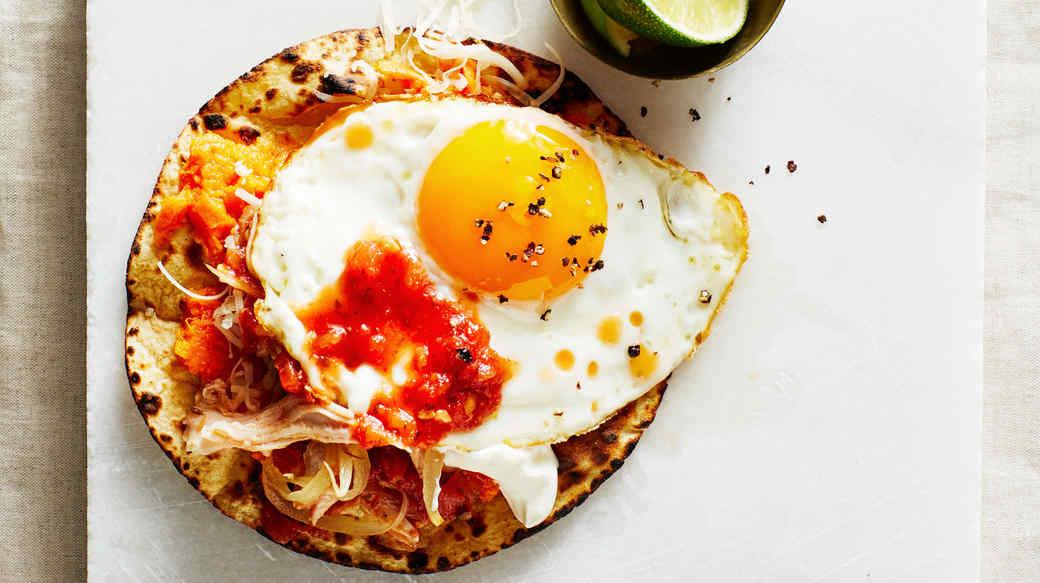 breakfast turkey tacos