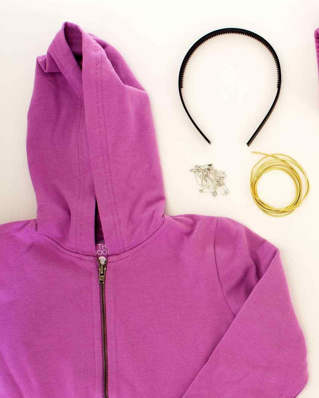 unicorn hoodie costume materials
