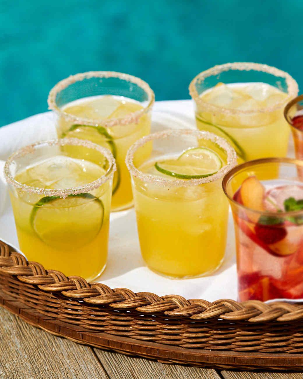 Yellow-Watermelon Margarita