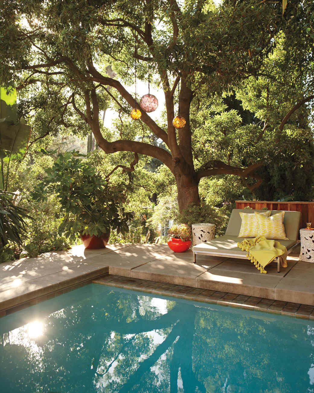 12 lessons in outdoor living martha stewart - Outdoor House Pools