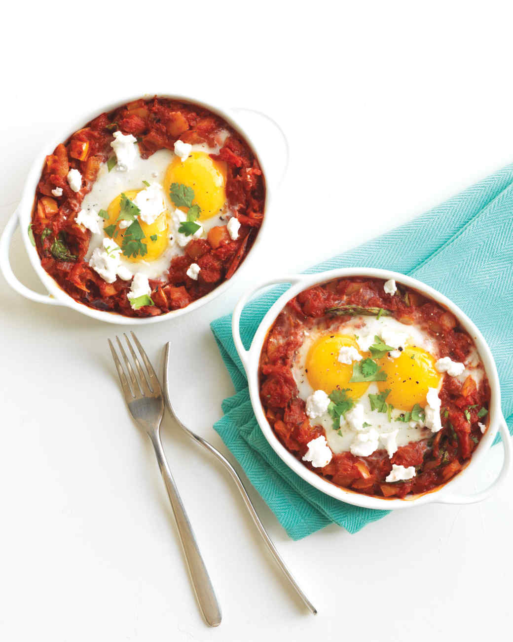 Baked Eggs in Chunky Tomato Sauce