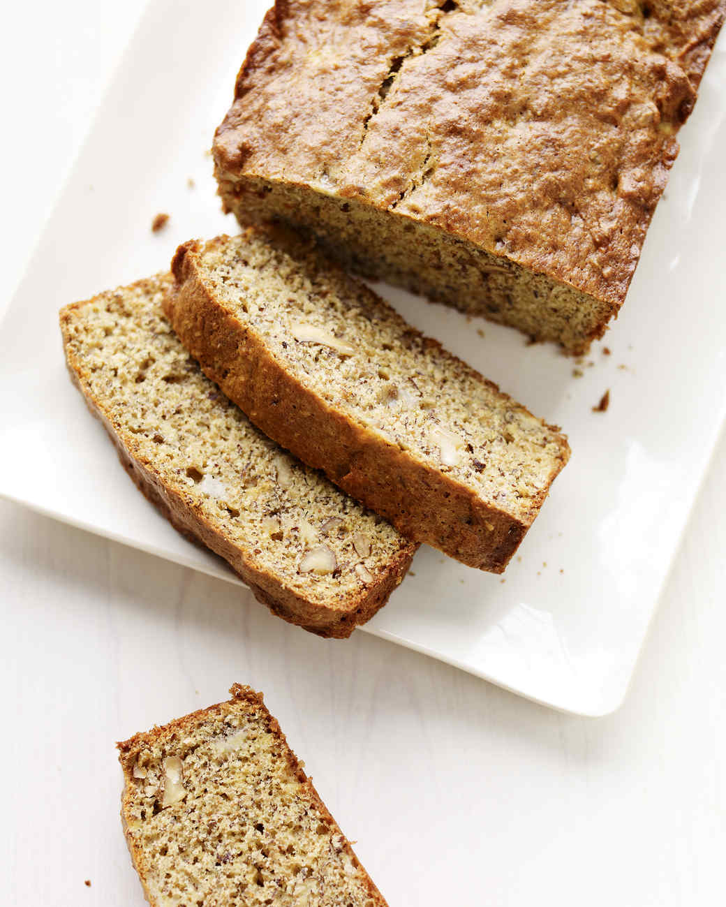 banana flax walnut bread