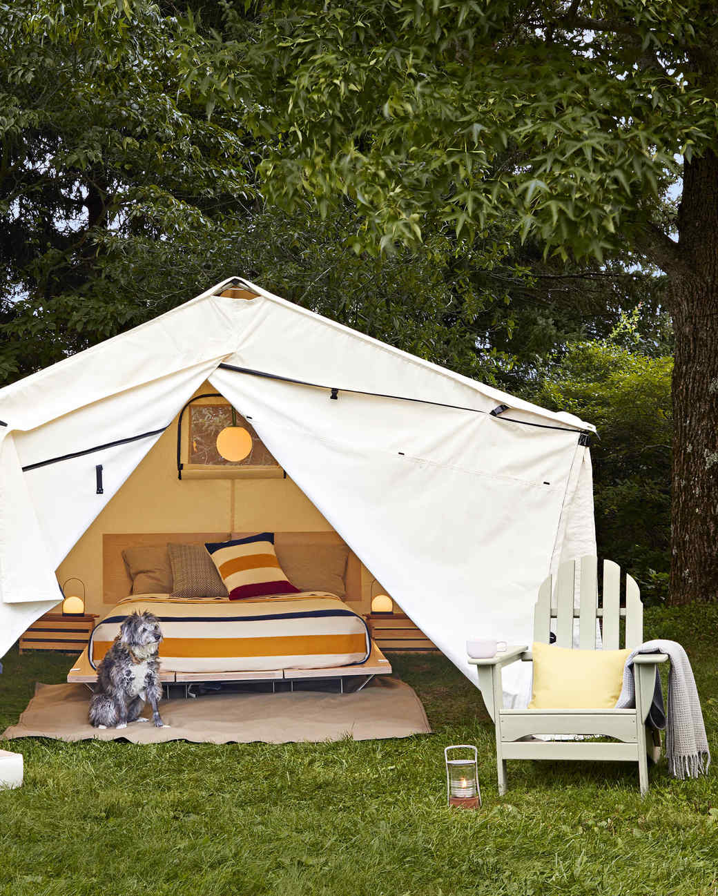 canvas camping tent