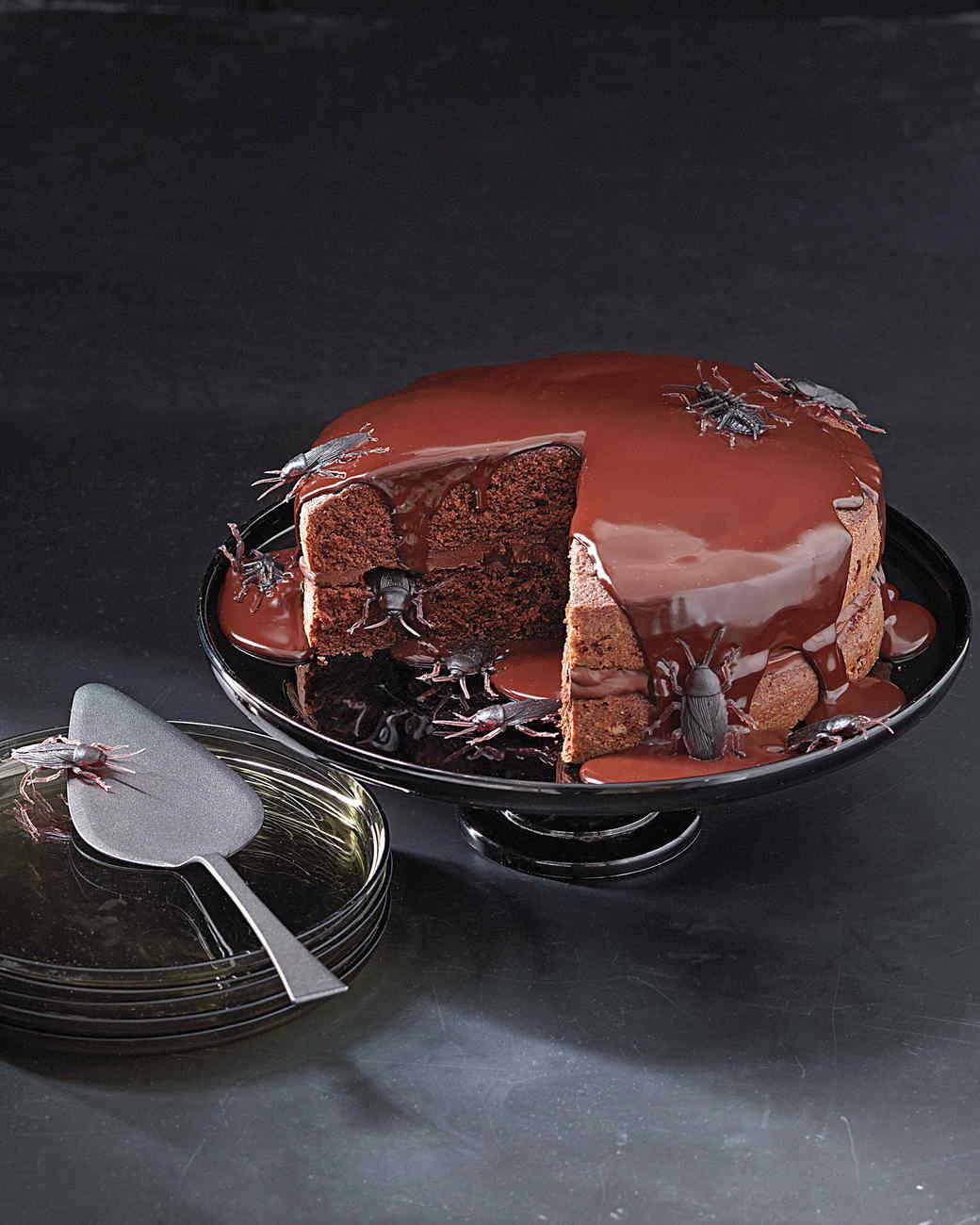 Creepy-Crawly Cake
