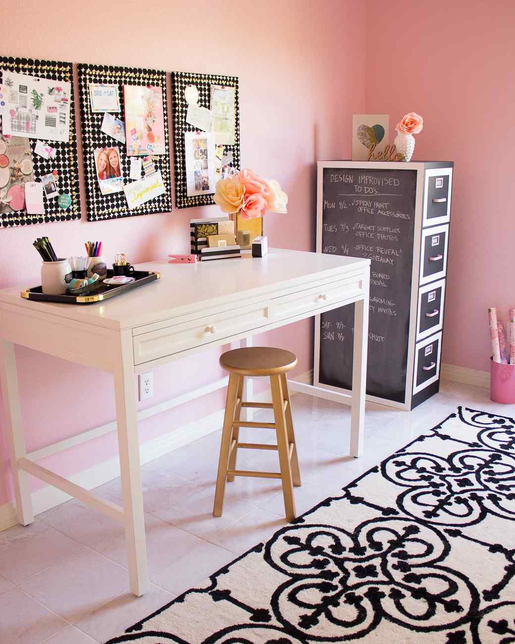 how to design the ultimate craft room martha stewart. Black Bedroom Furniture Sets. Home Design Ideas