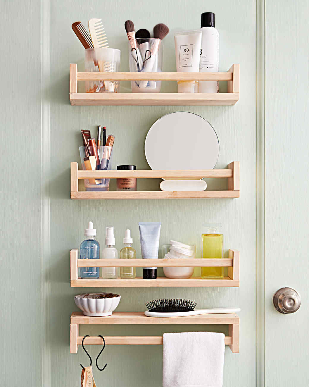 bathroom space saver ideas smart space saving bathroom storage ideas martha stewart 16054