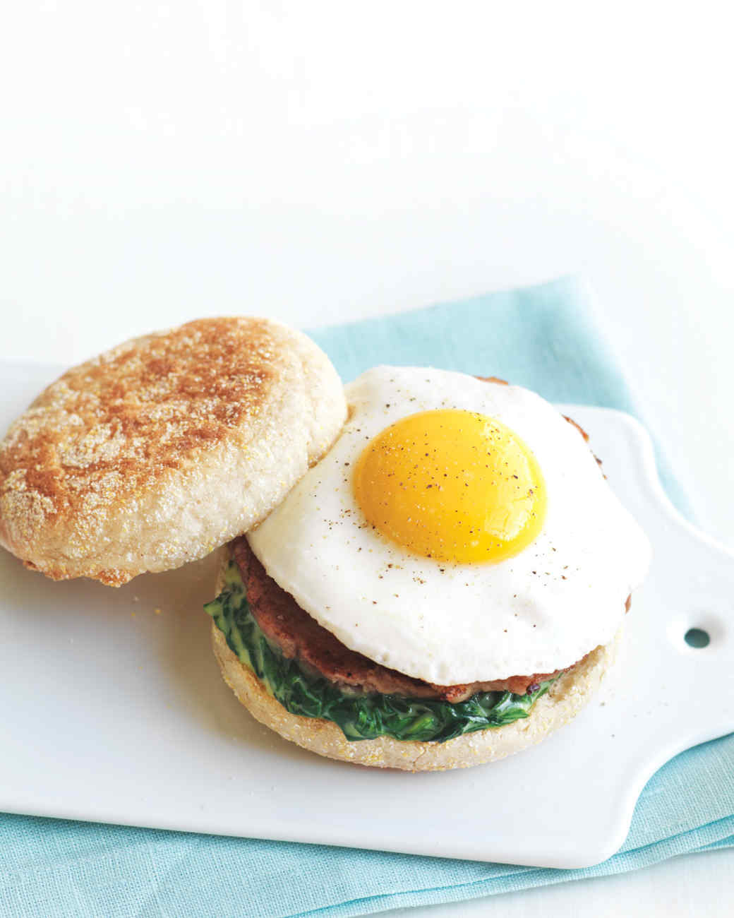 Egg Florentine Breakfast Sandwich