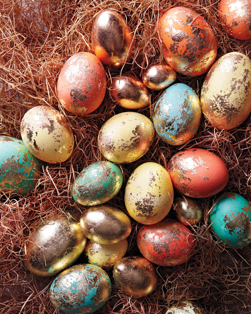 Foiled Eggs & Video | Martha Stewart