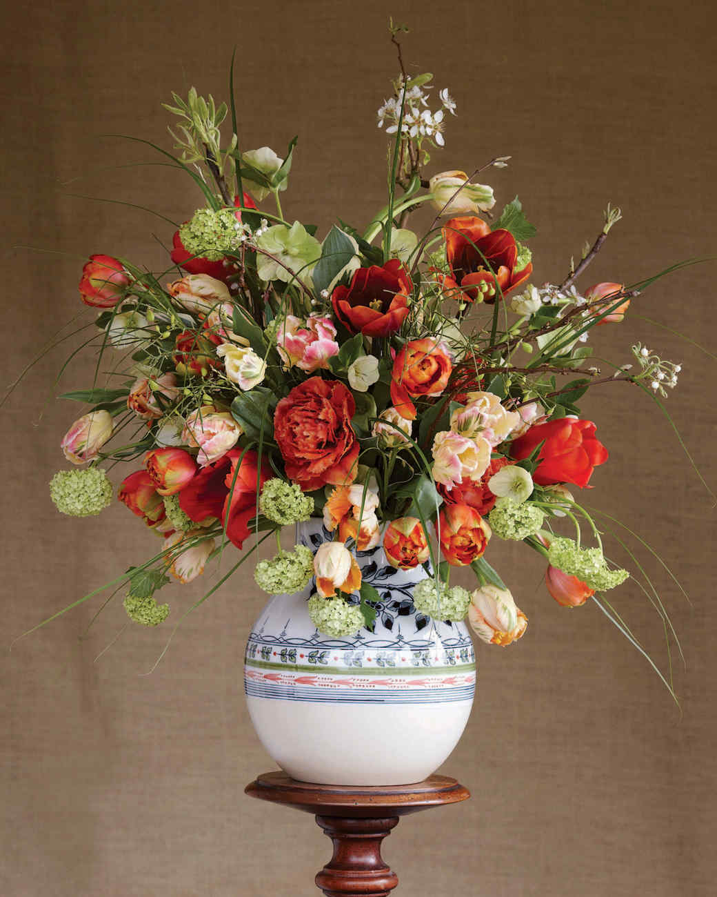 Flower Arrangements Red Flower Arrangements  Martha Stewart