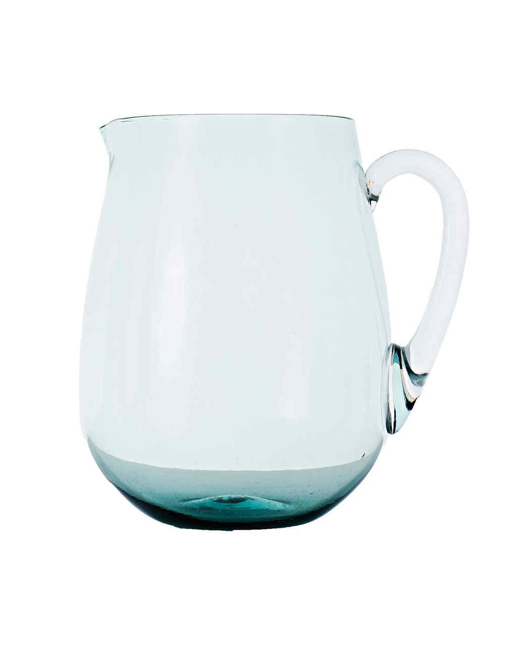 handblown glass pitcher gift guide 2017 home