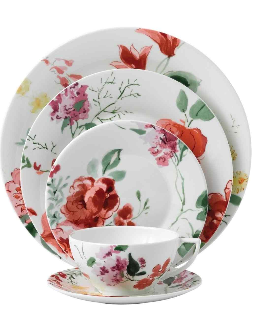 Jasper Conran floral plates