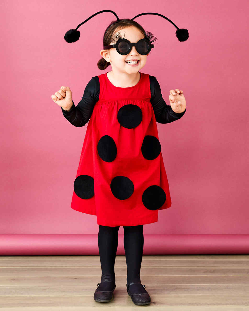 Brand New Insect Lady Bug Stockings Costume Accessory Adult