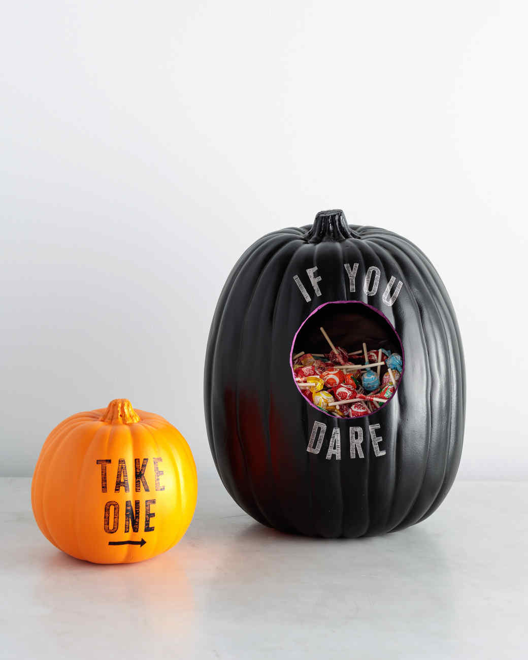 Halloween Candy Bowl Pumpkins