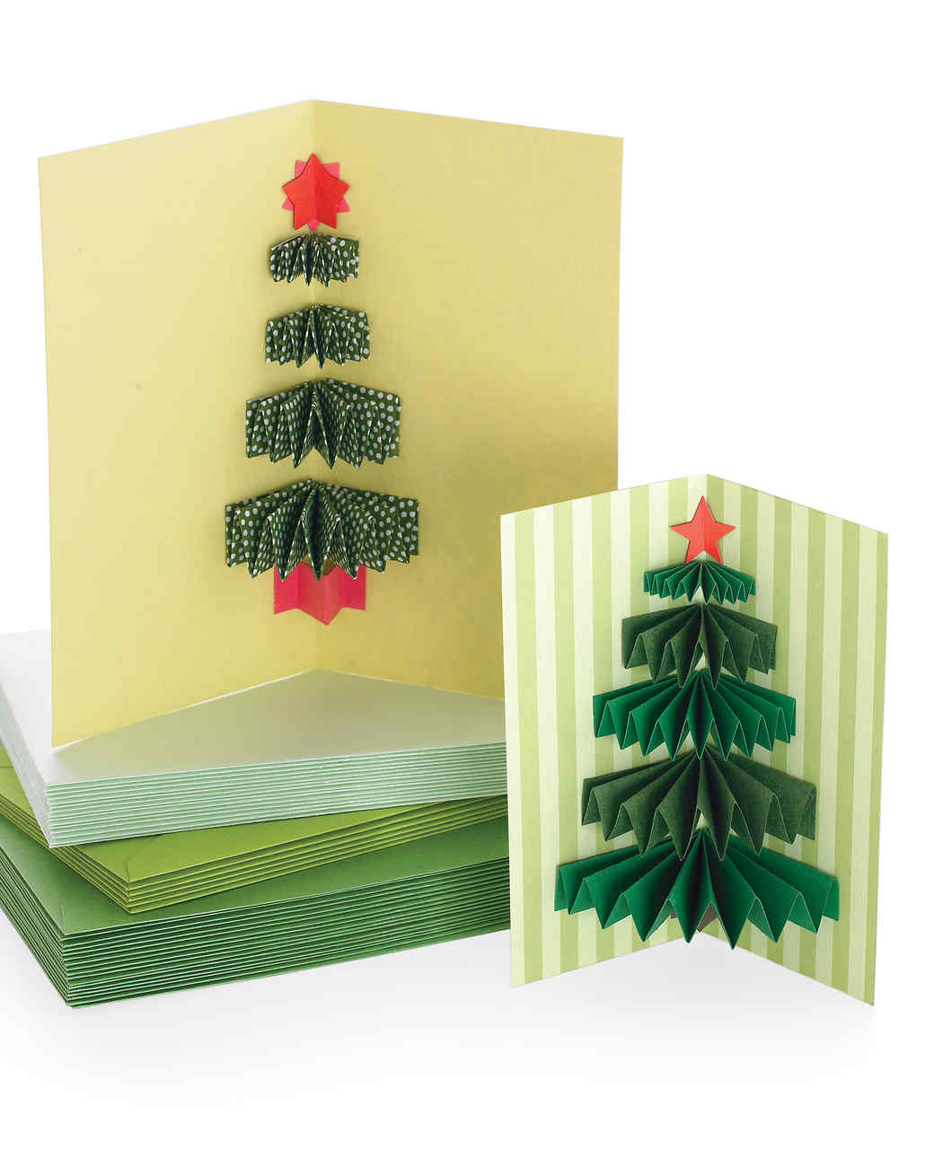 3 d christmas tree card tutorial video martha stewart