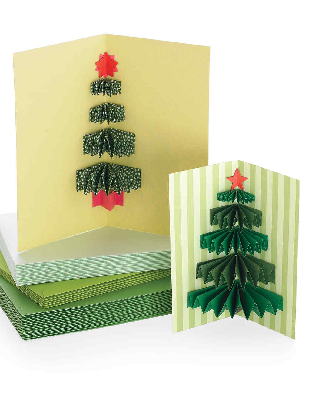 Making A Christmas Card Ideas Part - 39: Martha Stewart