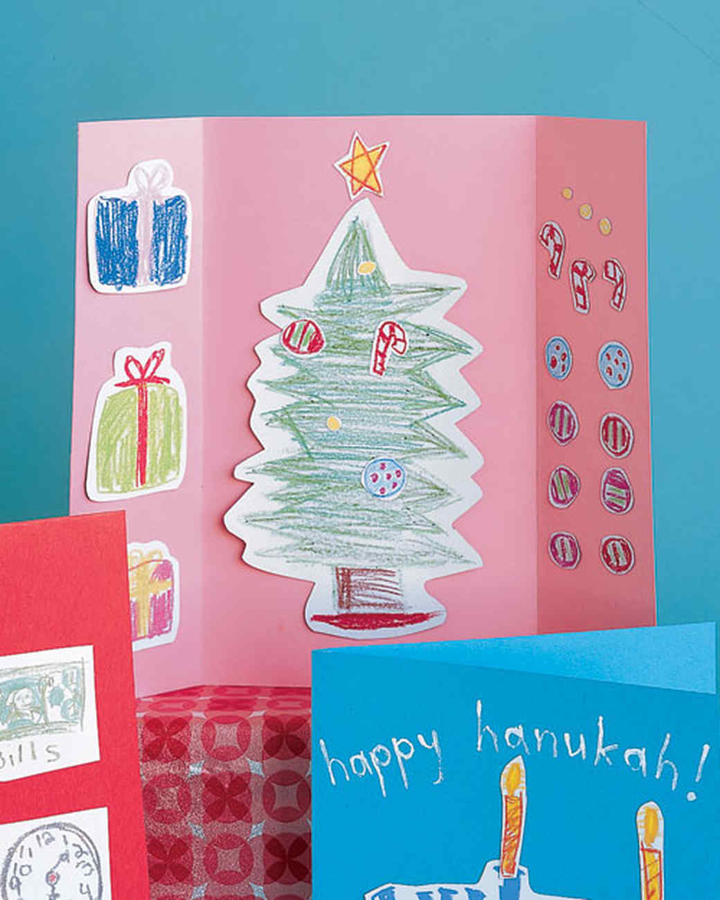 Christmas Cards Craft Ideas Part - 42: Magnet Cards
