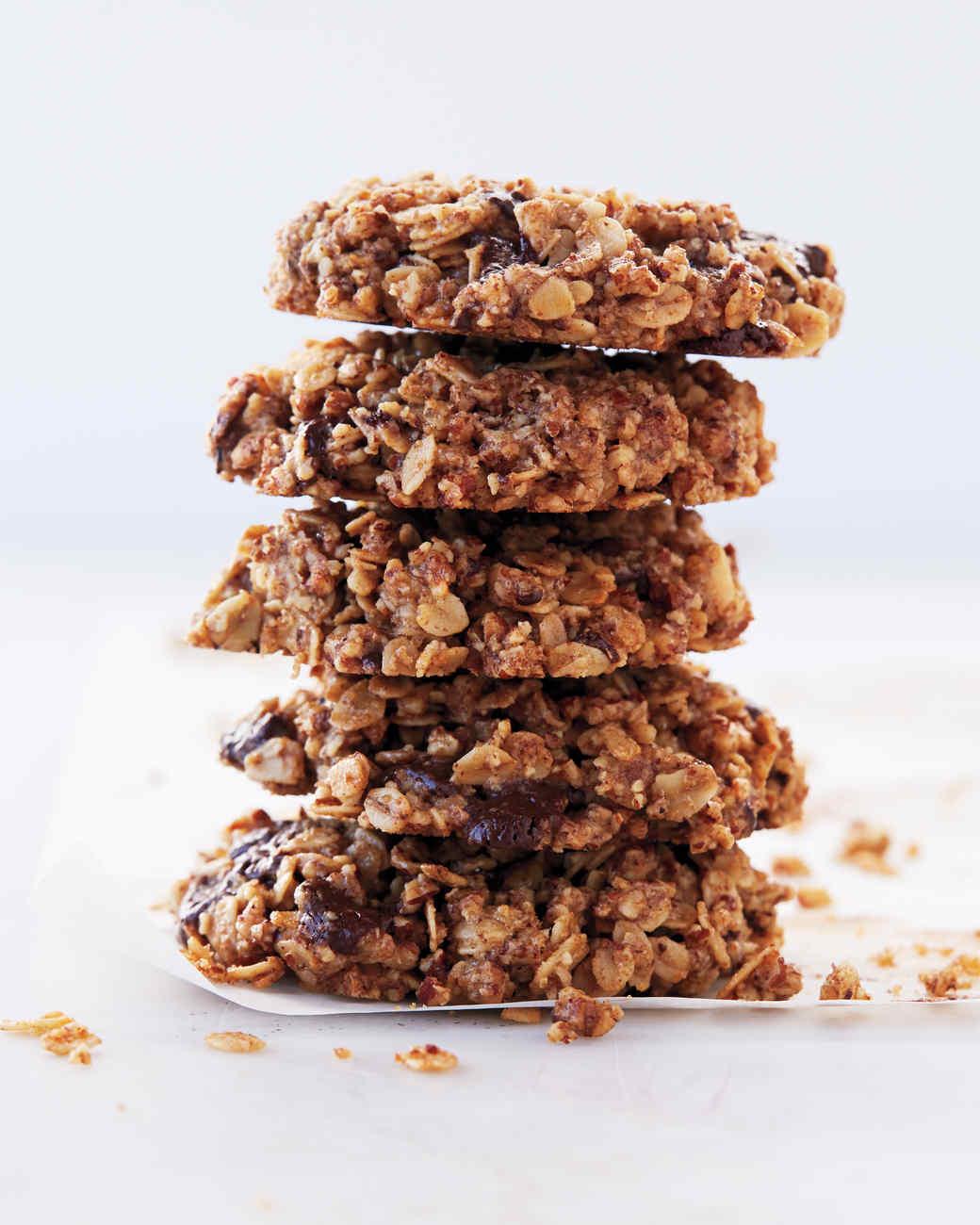 Pecan, Oat, and Dark-Chocolate-Chunk Cookies Recipe | Martha Stewart