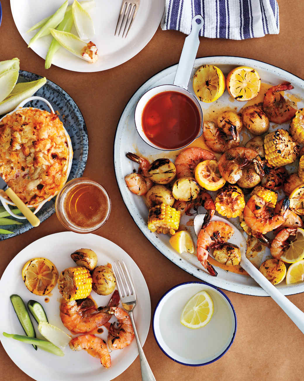 "Grilled Shrimp ""Boil"""